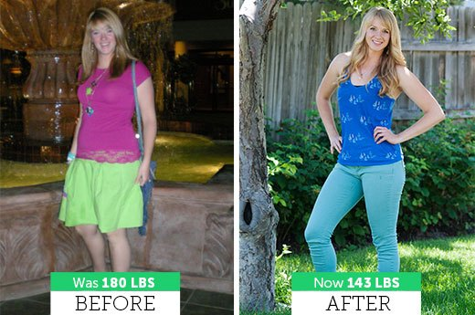 How Chanelle B. lost 37 Pounds