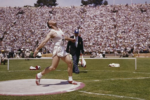 24. Al Oerter's Fourth Discus Gold Medal (1968 Mexico City)