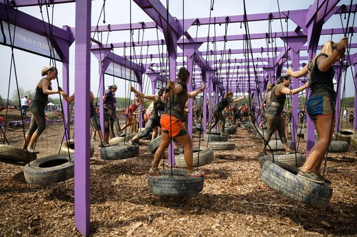 6. Mudderella: Wheels in Motion