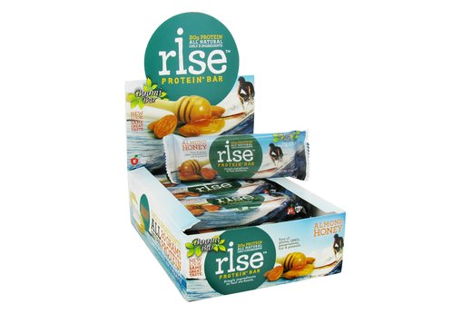 2. PROTEIN: Rise Protein+ Bar