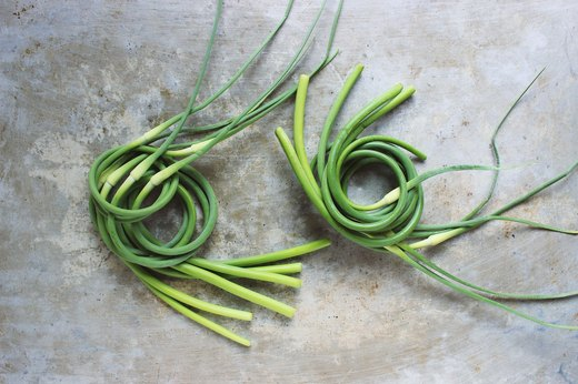 5. Garlic Scapes