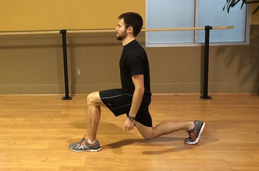 Exercise #2: Lunges
