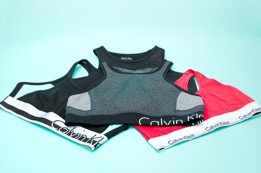 53. Calvin Klein Performance Logo Sports Bra