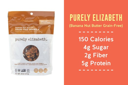 5. BEST: Purely Elizabeth (Banana Nut Butter Grain-Free)