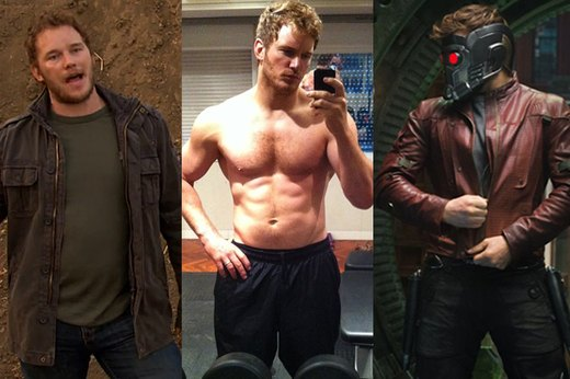 "3. Chris Pratt, ""Guardians of the Galaxy"""