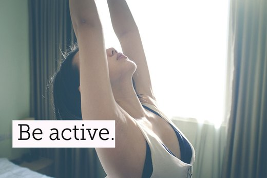 7. Get Some Exercise Everyday