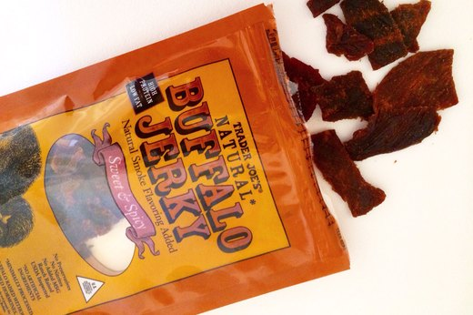WORST: Trader Joe's Sweet & Spicy Buffalo Jerky