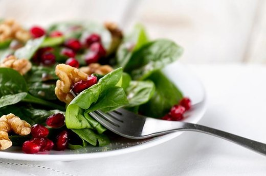 9. SPINACH: Autumn Spinach Salad