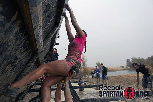8. Super Spartan: Wall Climb
