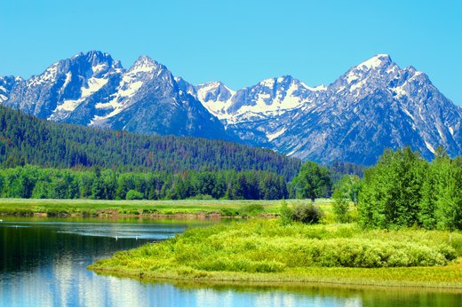 7. Teton County, Wyoming