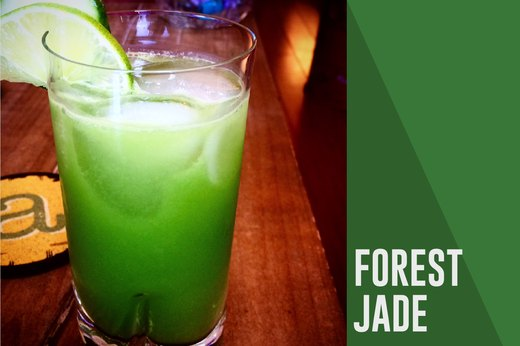 4. Cocktail: Forest Jade
