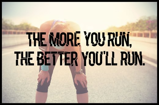 MYTH 5: The More You Run, the Better You'll Run