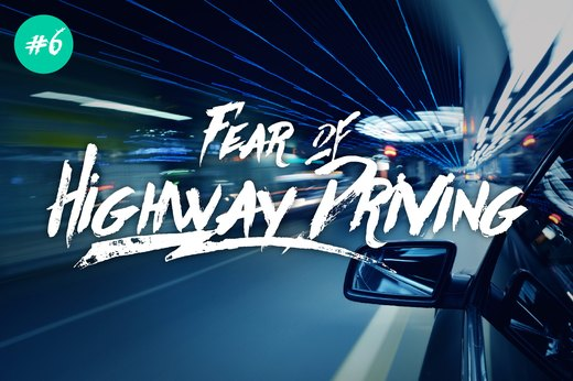 7. Fear of Highway Driving