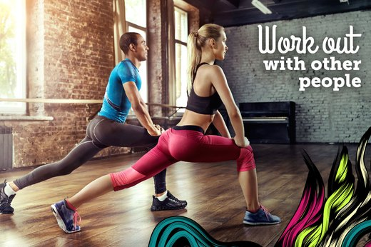 2. Work Out With People