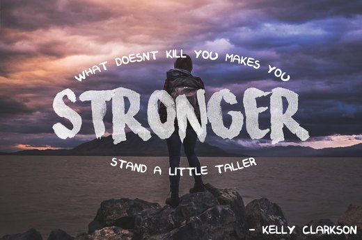 "2. ""Stronger (What Doesn't Kill You),"" Kelly Clarkson"