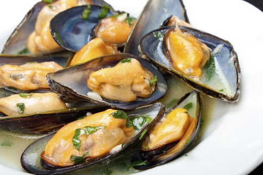 1. Mussels