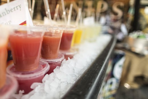 8. Smoothie Shops