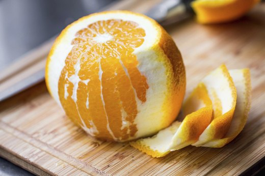 6. Citrus Fruits With Peel