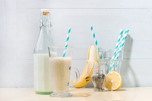 4. Frozen Banana Smoothies