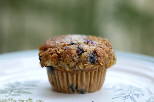 10. Whole-Wheat Blueberry Protein Muffins