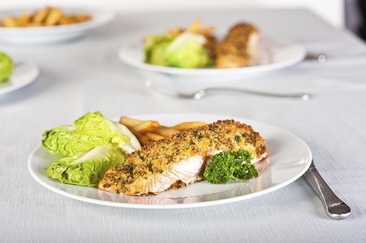 2. Macadamia-Crusted Halibut