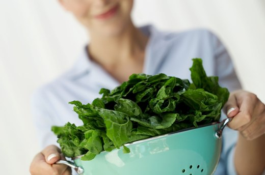 Those Green Leafy Vegetables