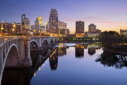 2.  Minneapolis, Minnesota