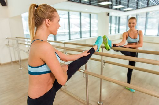 6. Lonely? Try a Barre Class