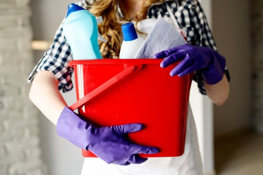 MYTH #4: Antibacterial products are best for household cleaning.