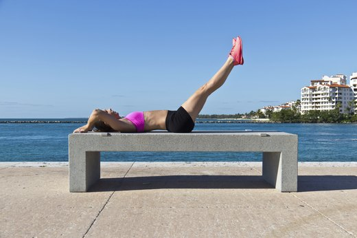 9. Leg Raises for Lower Abs