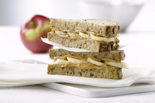 8. Grown-Up Peanut Butter Sandwiches