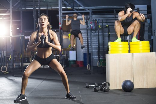 2. Kettlebells Help You Develop Proper Squatting Form