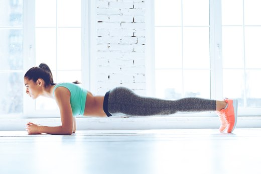 8. Hold a Plank for Two Minutes