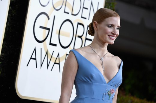 4. Jessica Chastain — Vegan Diet