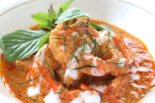 6. Curry Shrimp With Coconut, Ginger and Basil
