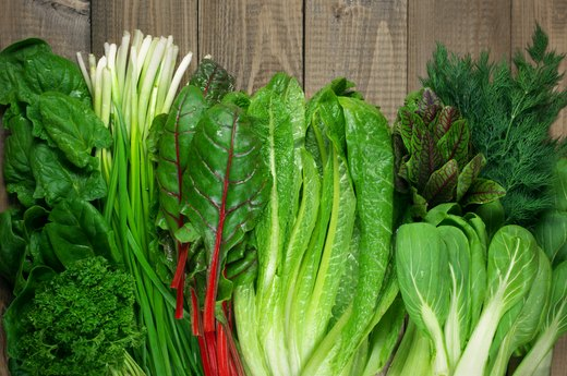 8. Leafy, Green Vegetables