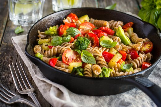 6. Veggie-Loaded Pasta