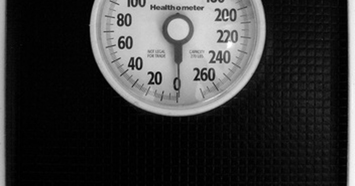 how to calculate weight of human body