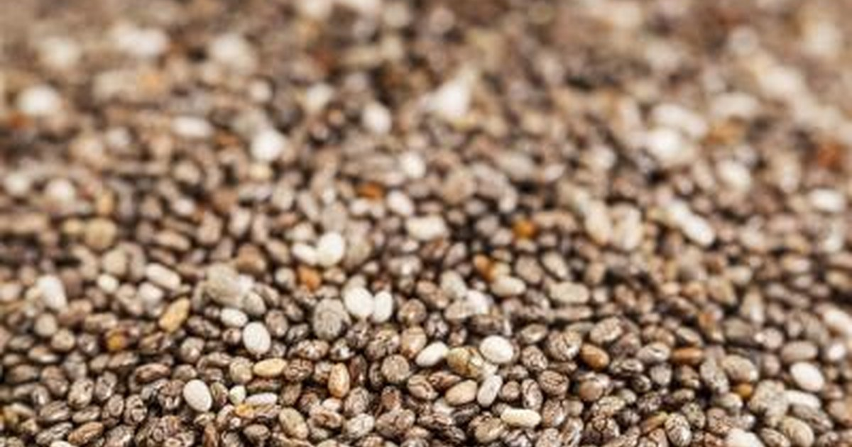 Fiber chia seeds