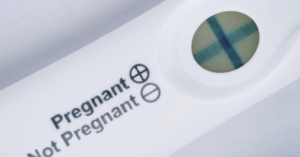 relationship struggles through pregnancy test