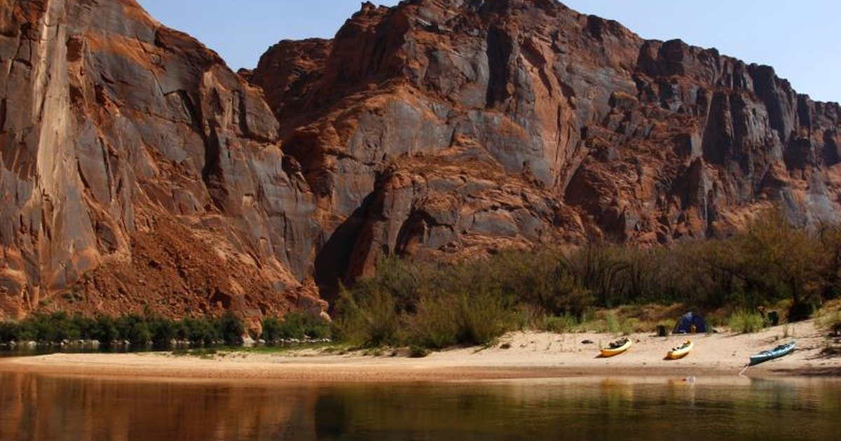 Best Waterfront Tent Camping In Arizona Livestrong Com