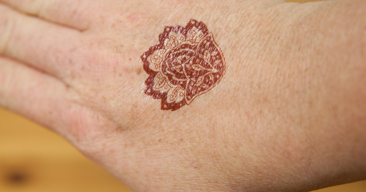 Temporary Tattoo Ink Like Henna: How To Remove Henna Tattoo Ink