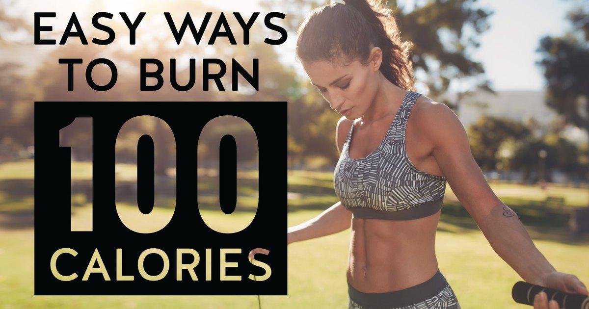 Easy Ways to Burn 100 Calories