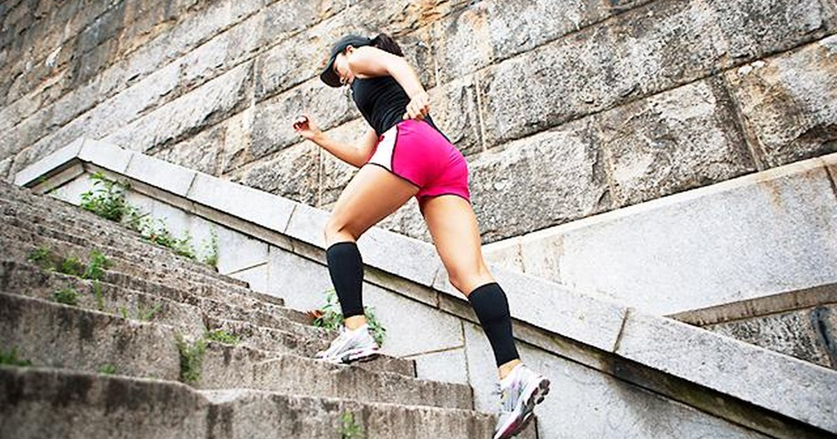Turn Your Stairs Into A Fat Burning Machine Livestrong Com