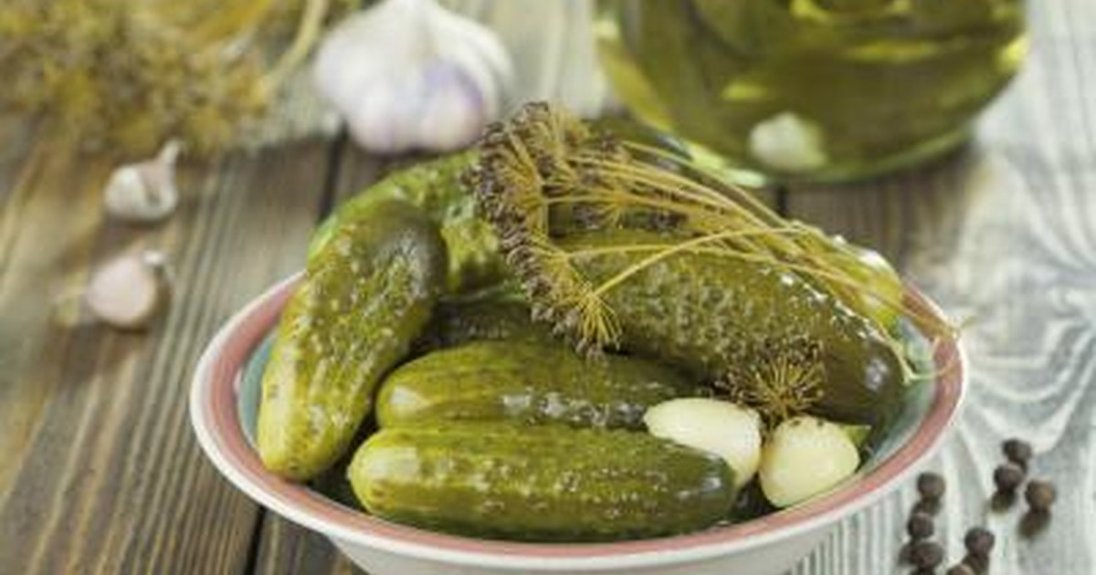 Are Dill Pickles Healthy During Pregnancy Livestrong Com