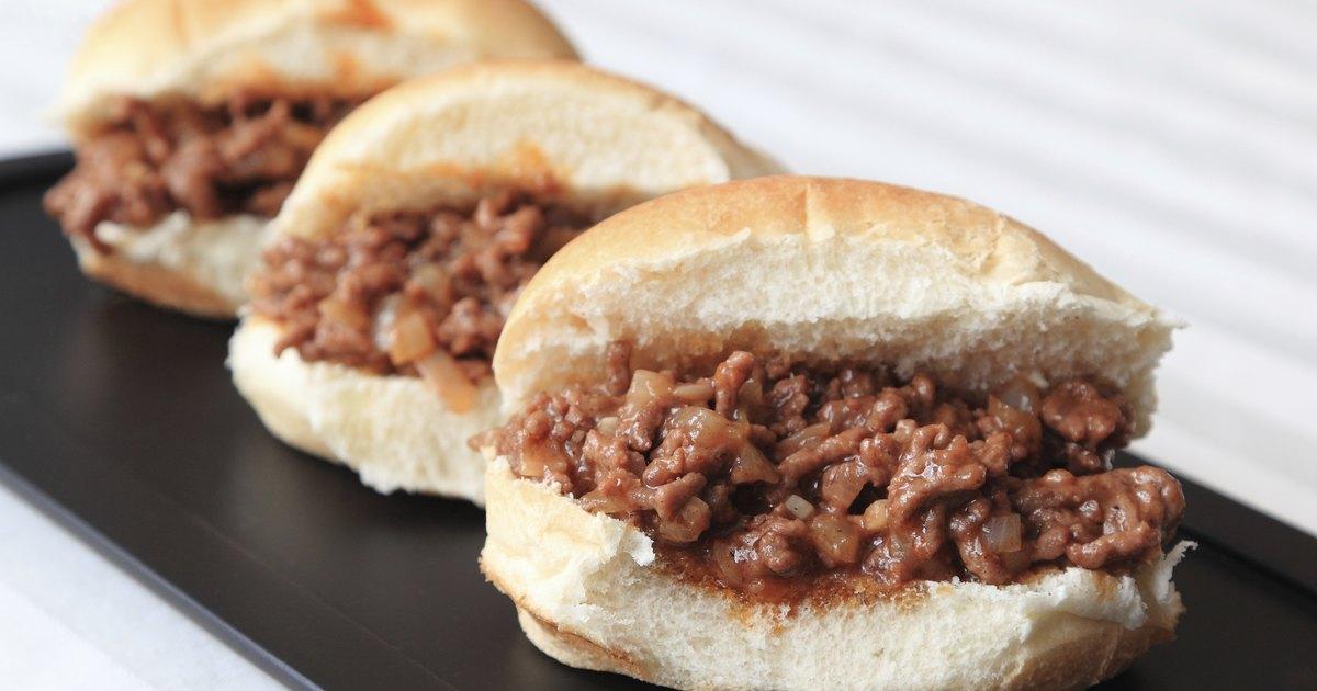 The Calories In A Sloppy Joe Sandwich Livestrong Com