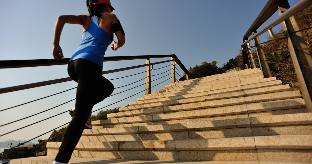 What Are The Benefits Of Stair Climbing Livestrong Com