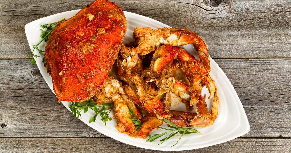 Calories Large Crab Cake