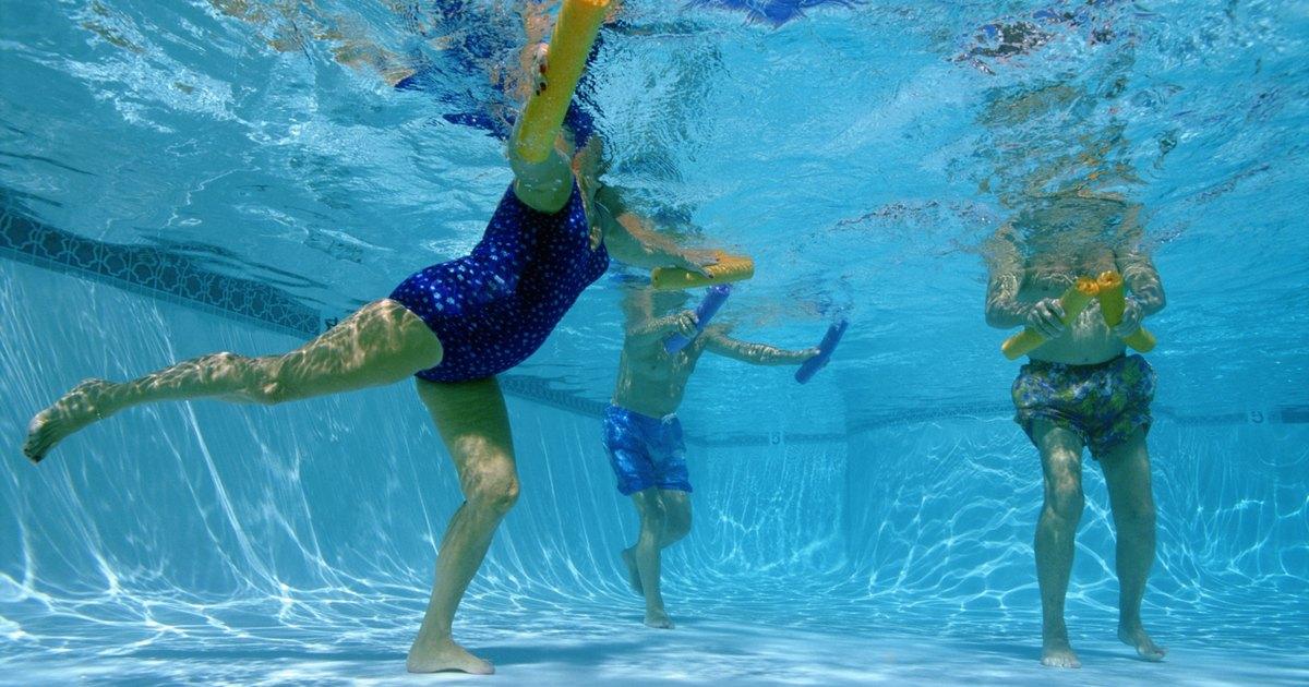Walking In An Aquatic Pool For Chronic Back Pain