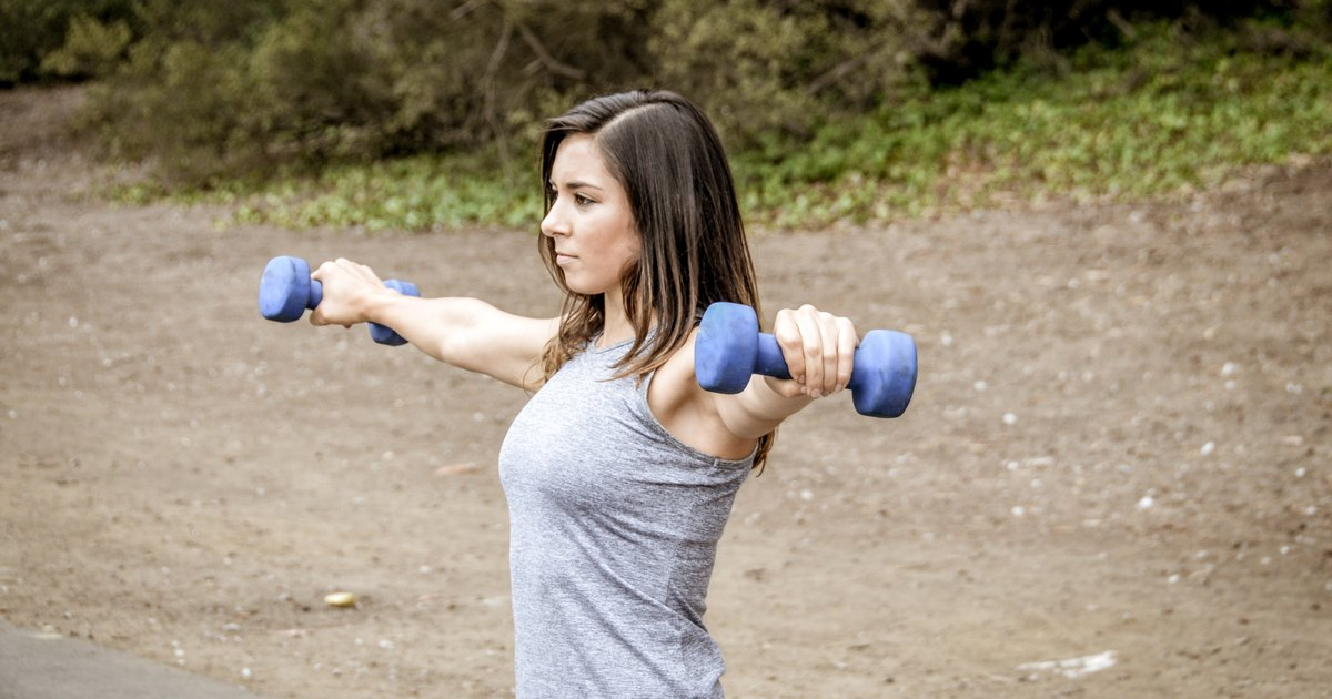 Exercises to Help Burn Upper Arm Fat | LIVESTRONG.COM